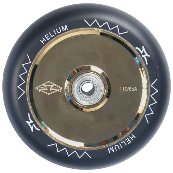 AO Helium Wheel 110mm incl. Titen Abec 9 polished