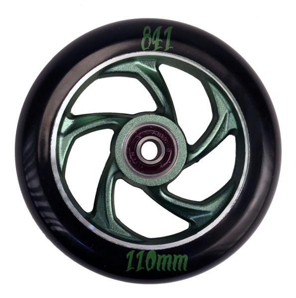 841 Wheel Forged 5-Star III 110mm incl. Titen Abec 9 Bearings