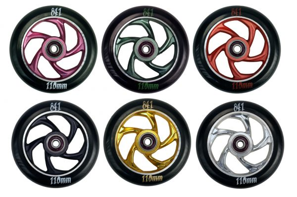 841 Wheel Forged 5-Star III 110mm incl. Titen Abec 9 Bearings